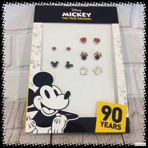 Disney Mickey The Original 90 Years 5 Earring Sets